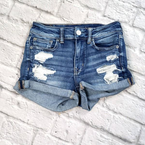 American Eagle Outfitters Hi Rise Shortie size 2